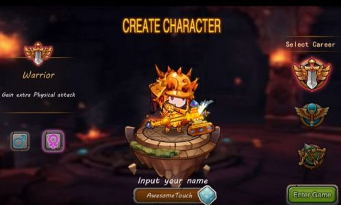 game-nhap-vai-thong-auto-fighting-cho-ios 1