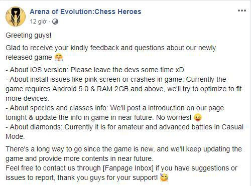 """Arena of Evolution: Chess Heroes"" game ăn theo Auto Chess gây nghiện 5"